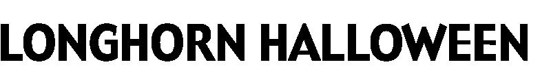 Longhorn Halloween logo